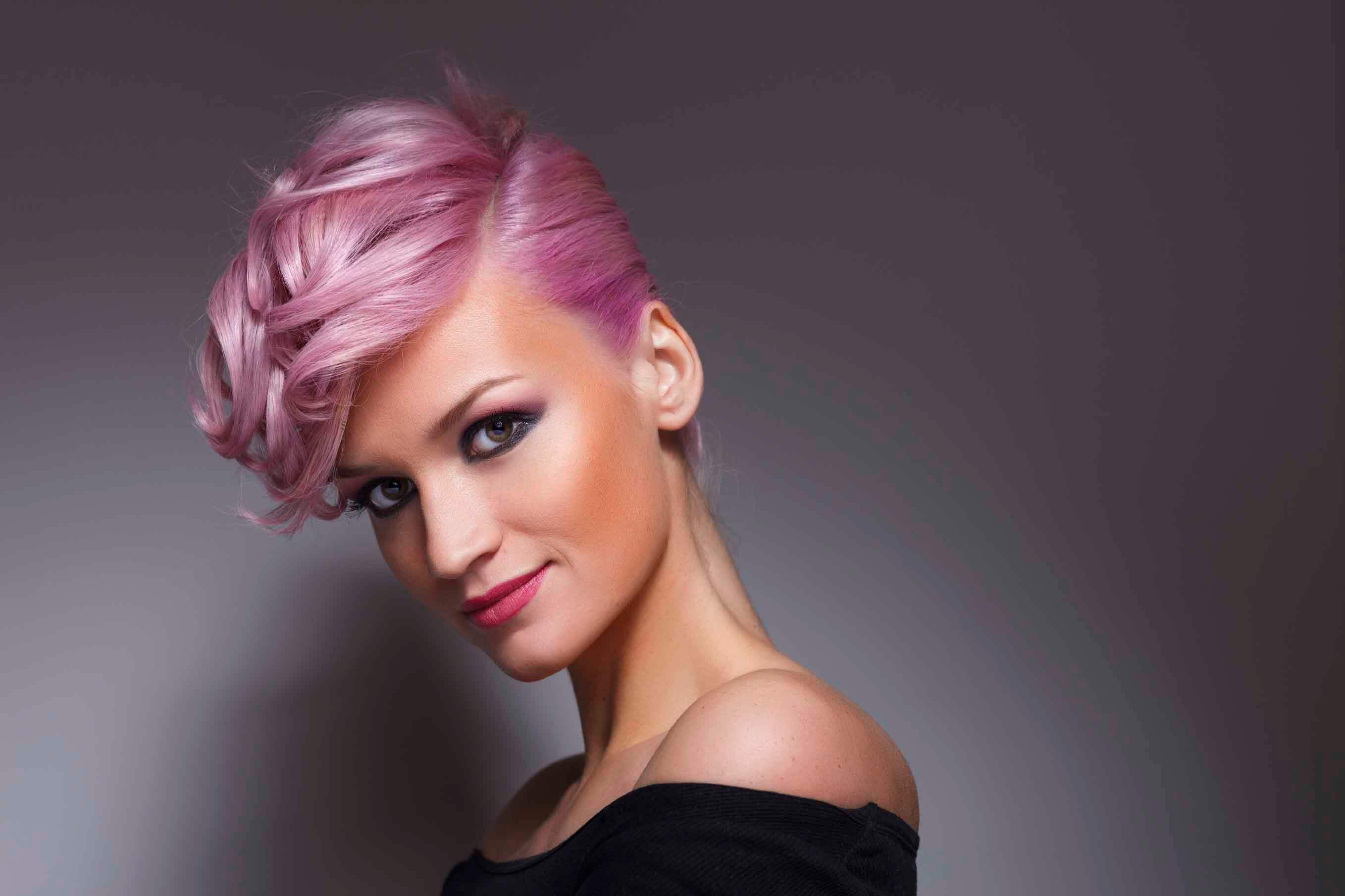 Stunning hairstyles Sideswept Curly Updo