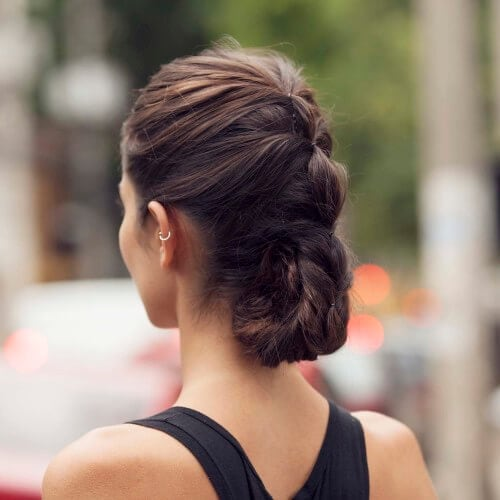 Updo For Heavy Thick Hair 10 Styles We Re Obsessed With Now