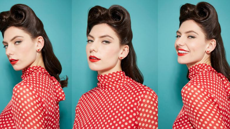 1940s hairstyles victory rolls