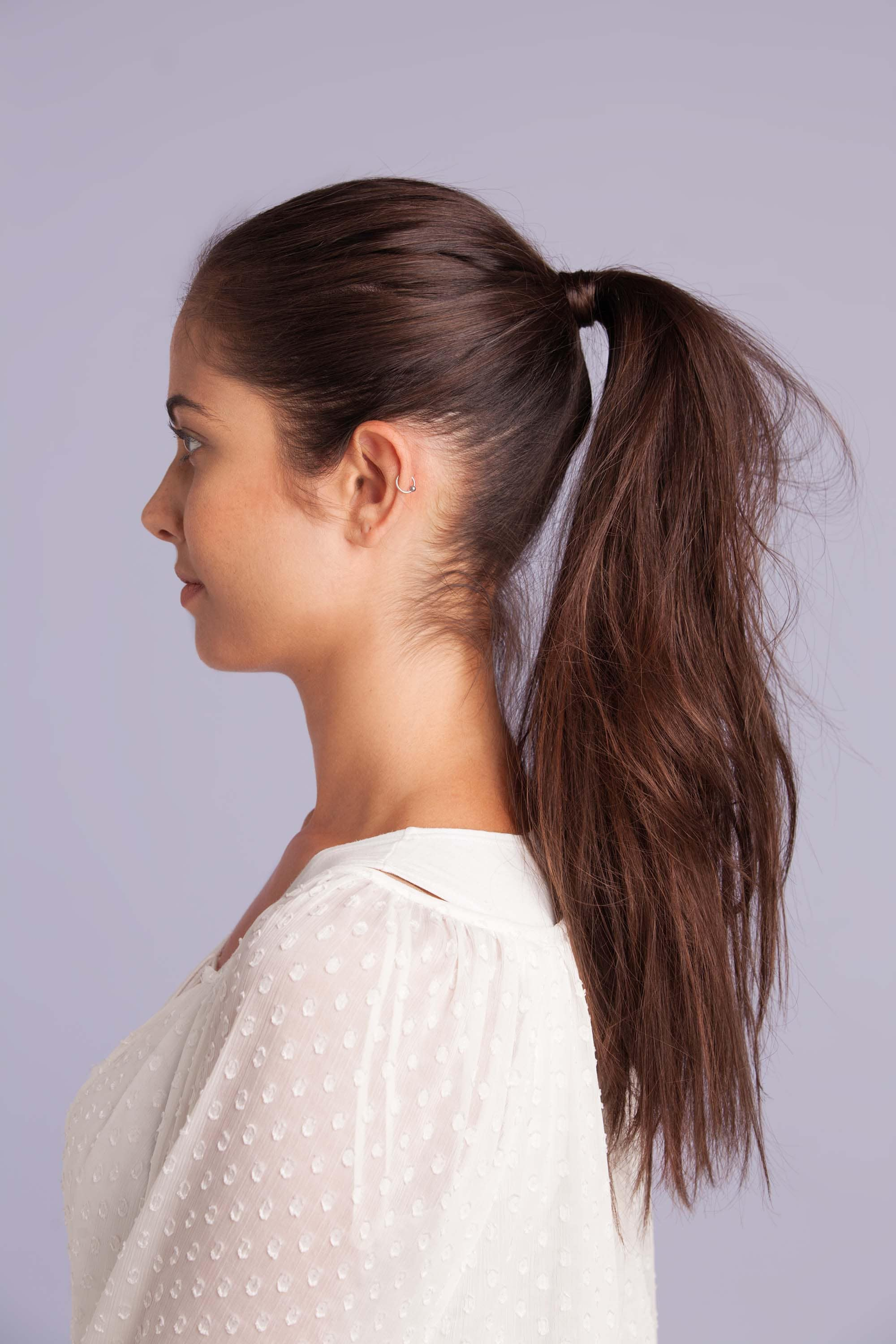 prevent hair loss: ponytail styles