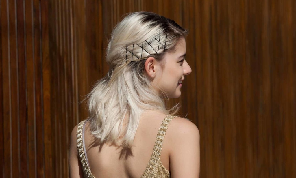 Bobby Pin Hairstyles in 4 Ways