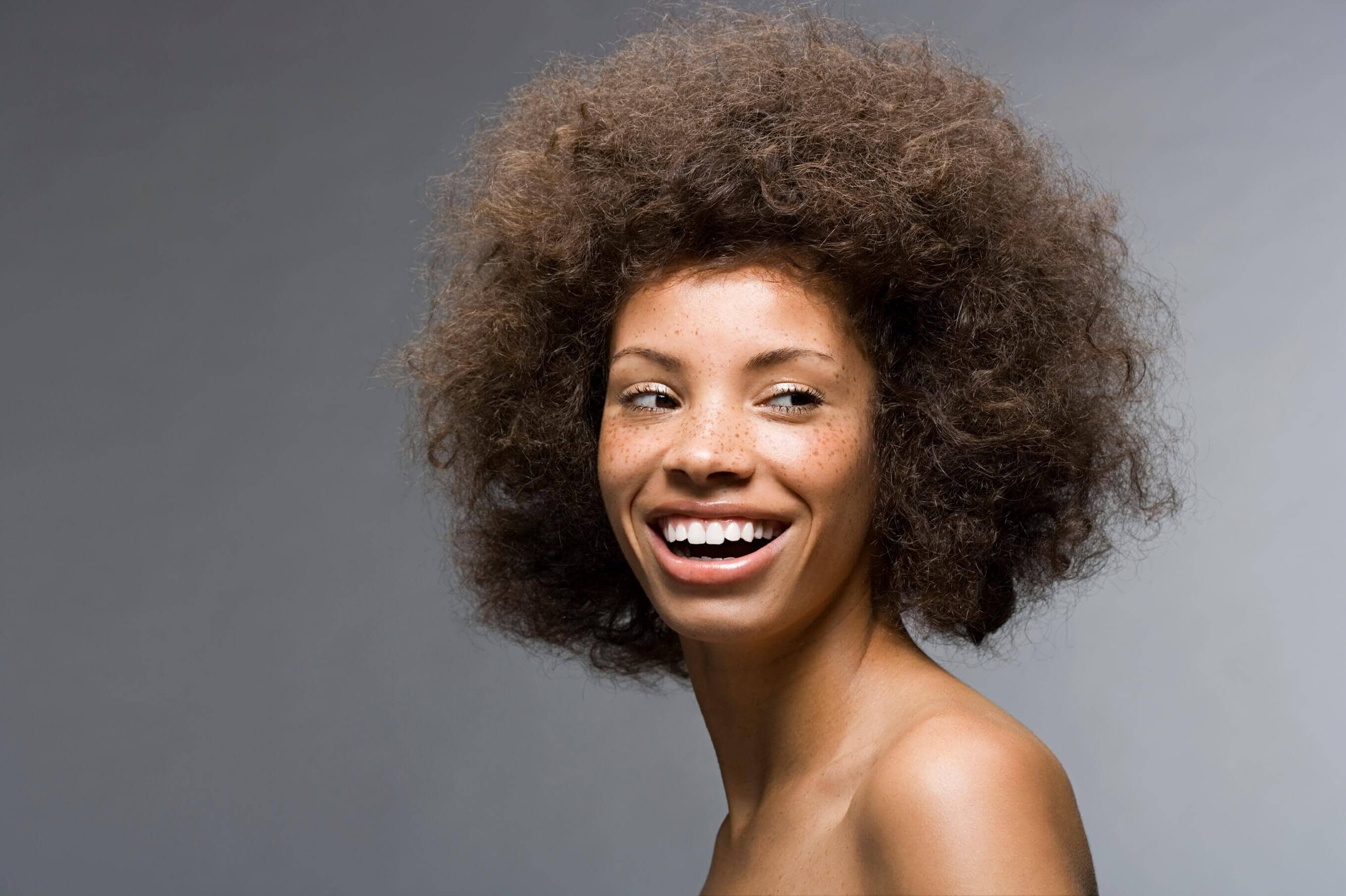 afro hairstyle mini fro