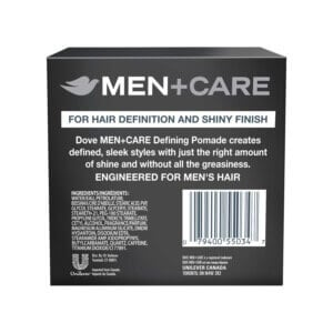 dove men care defining pomade rear view