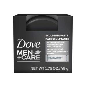 dove men care sculpting paste front view