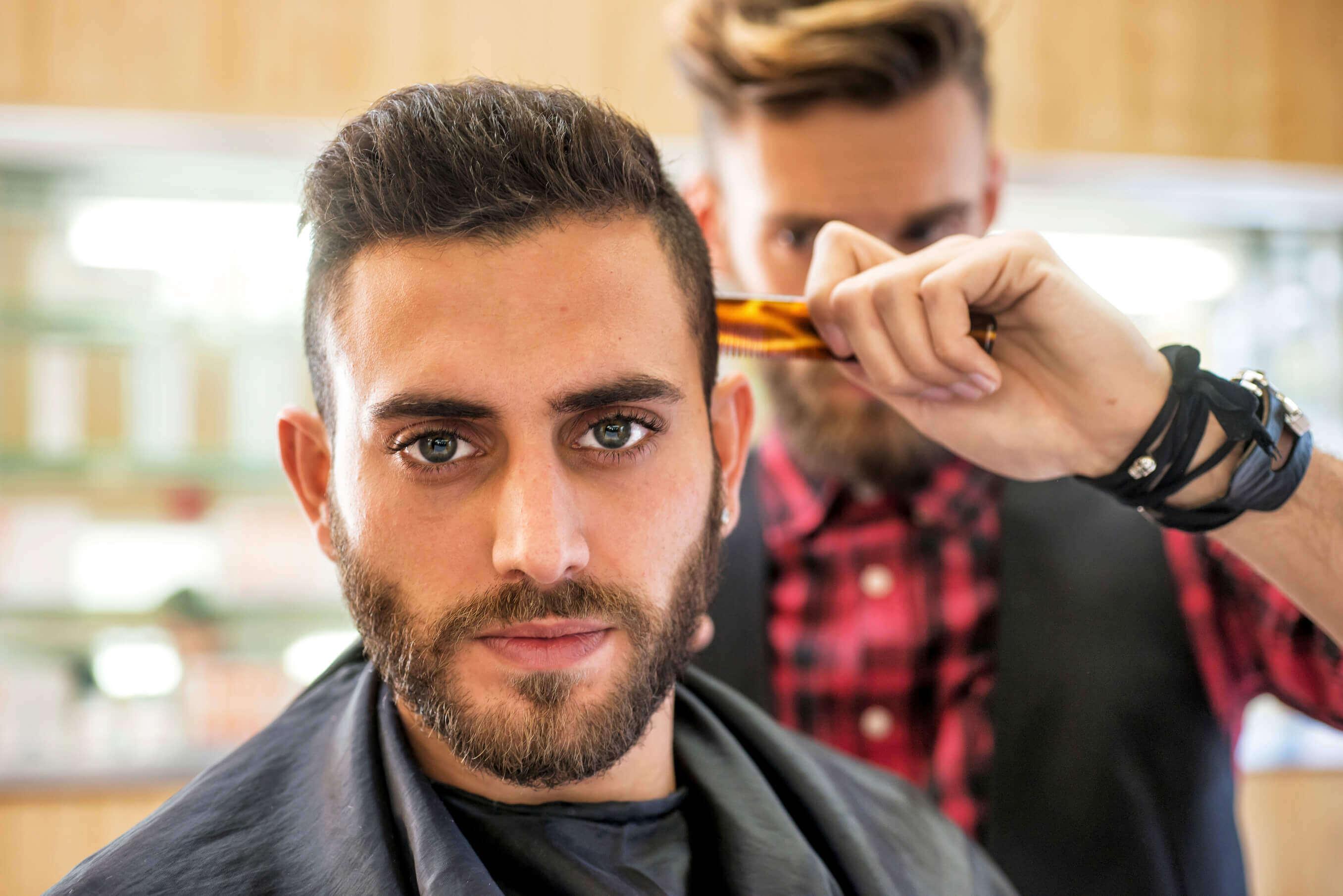 Short haircut barber tips