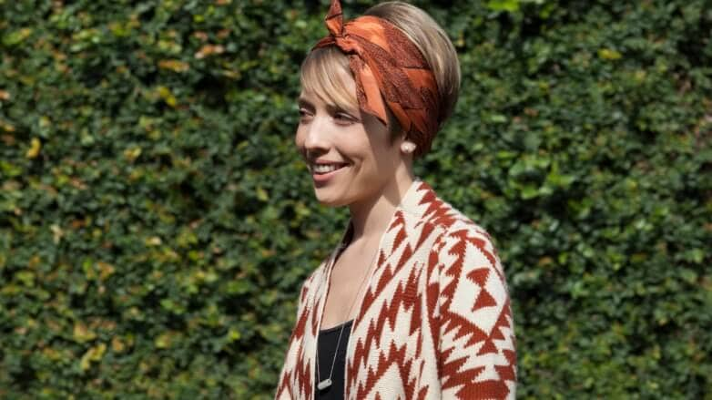 head scarf looks for indian summer