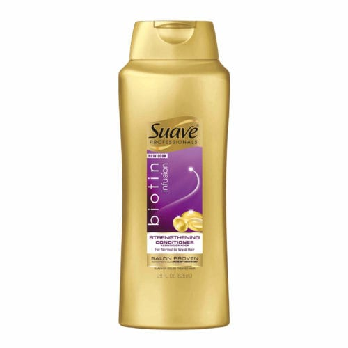 suave biotin strengthening conditioner front view