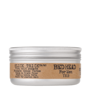 BED HEAD FOR MEN BY TIGI SLICK TRICK FIRM HOLD POMADE front view