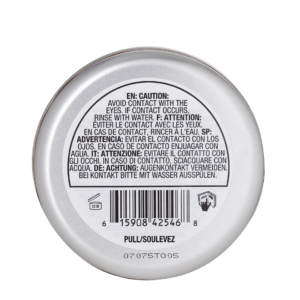 bed hair for men pure texture paste bottom view