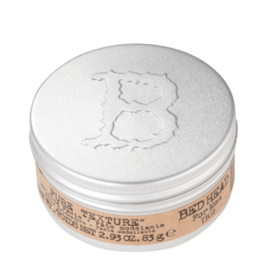 bed hair for men pure texture paste top aside view