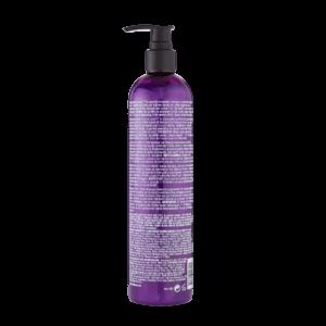 bed head dumb blonde purple shampoo rear view