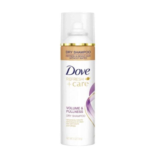 Dove dry shampoo: volume and fullness