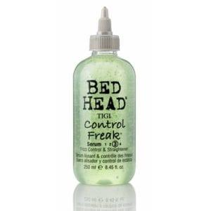 bed head by tigi control freak hair serum front view