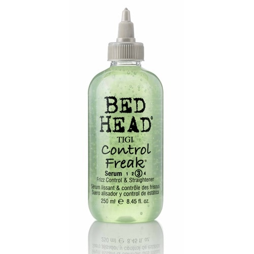 bed head by tigi control freak hair serum front view