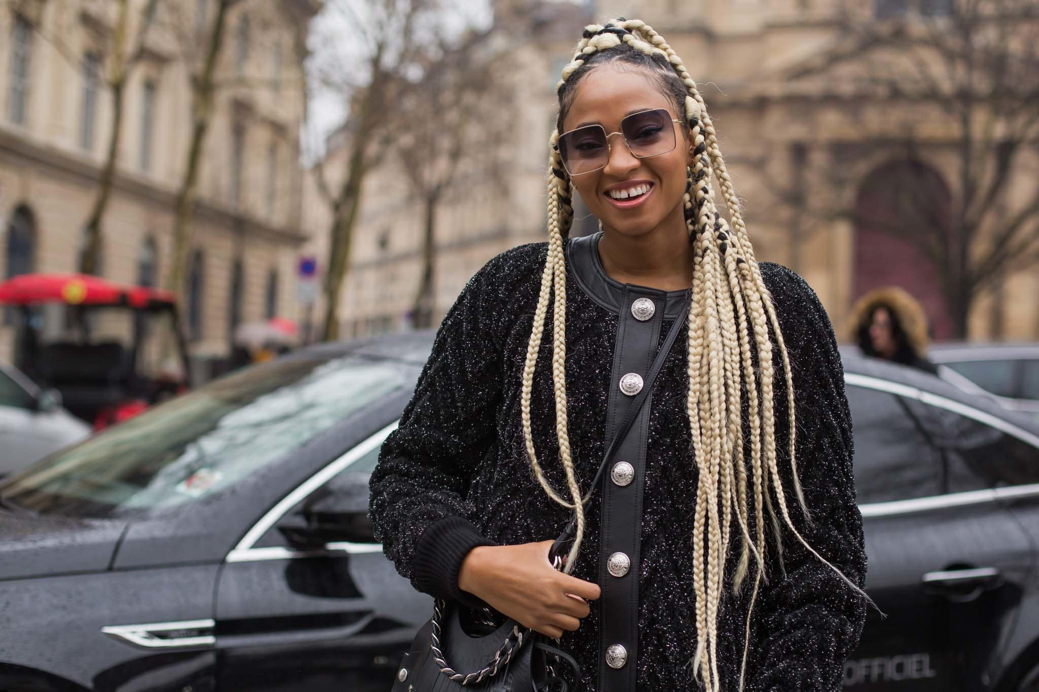 How To Get And Style Jumbo Box Braids At Home All Things Hair Usa