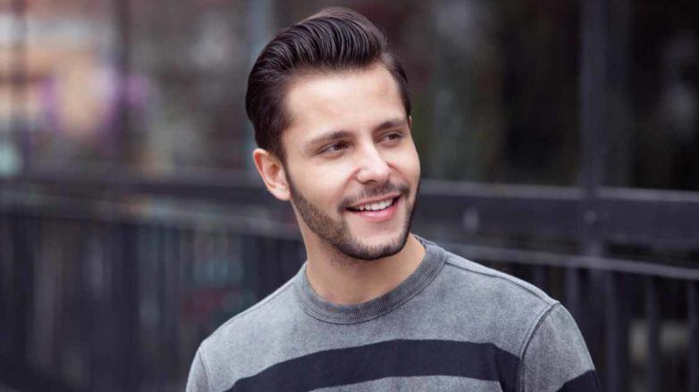 how to create a quiff fade for men
