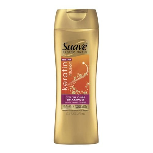 suave professional keratin infusion color care shampoo