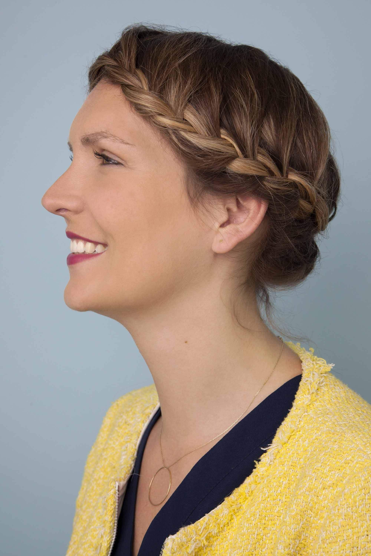 hair braiding ideas crown braid