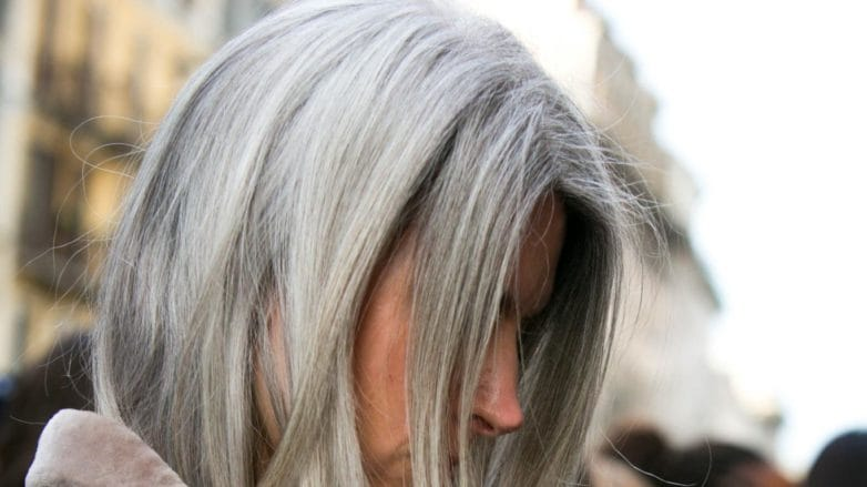 How to Rock the Silver Hair Dye Trend