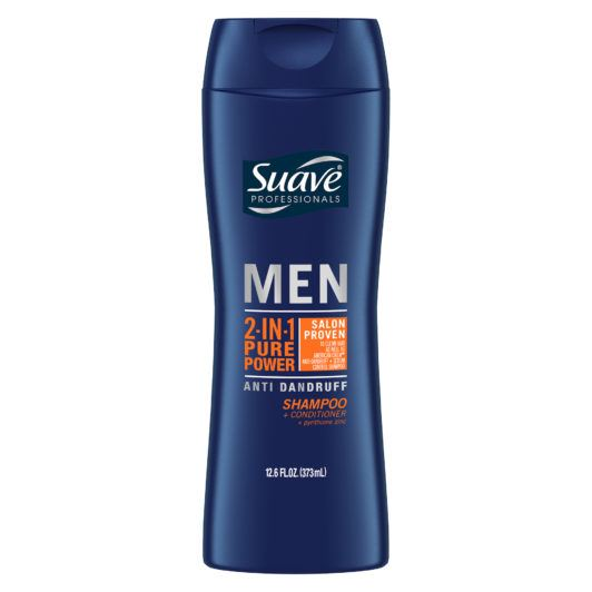 SUAVE MEN PURE POWER ANTI-DANDRUFF 2-IN-1