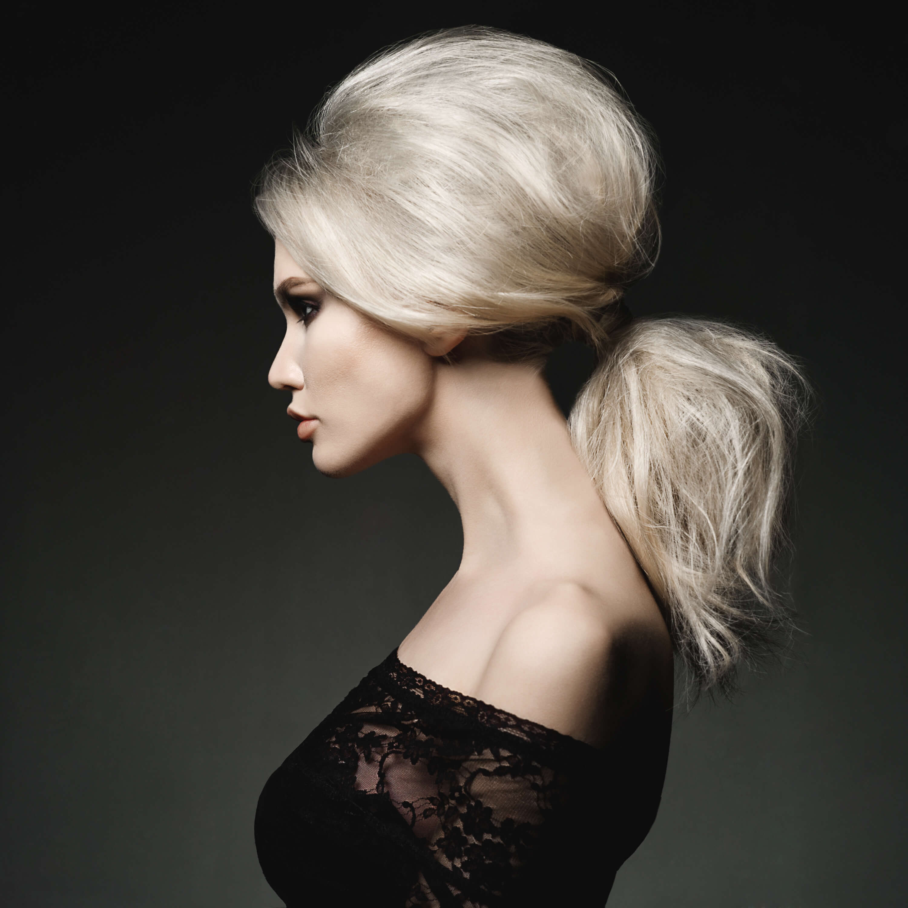 Stunning hairstyles Poofed Up Pony