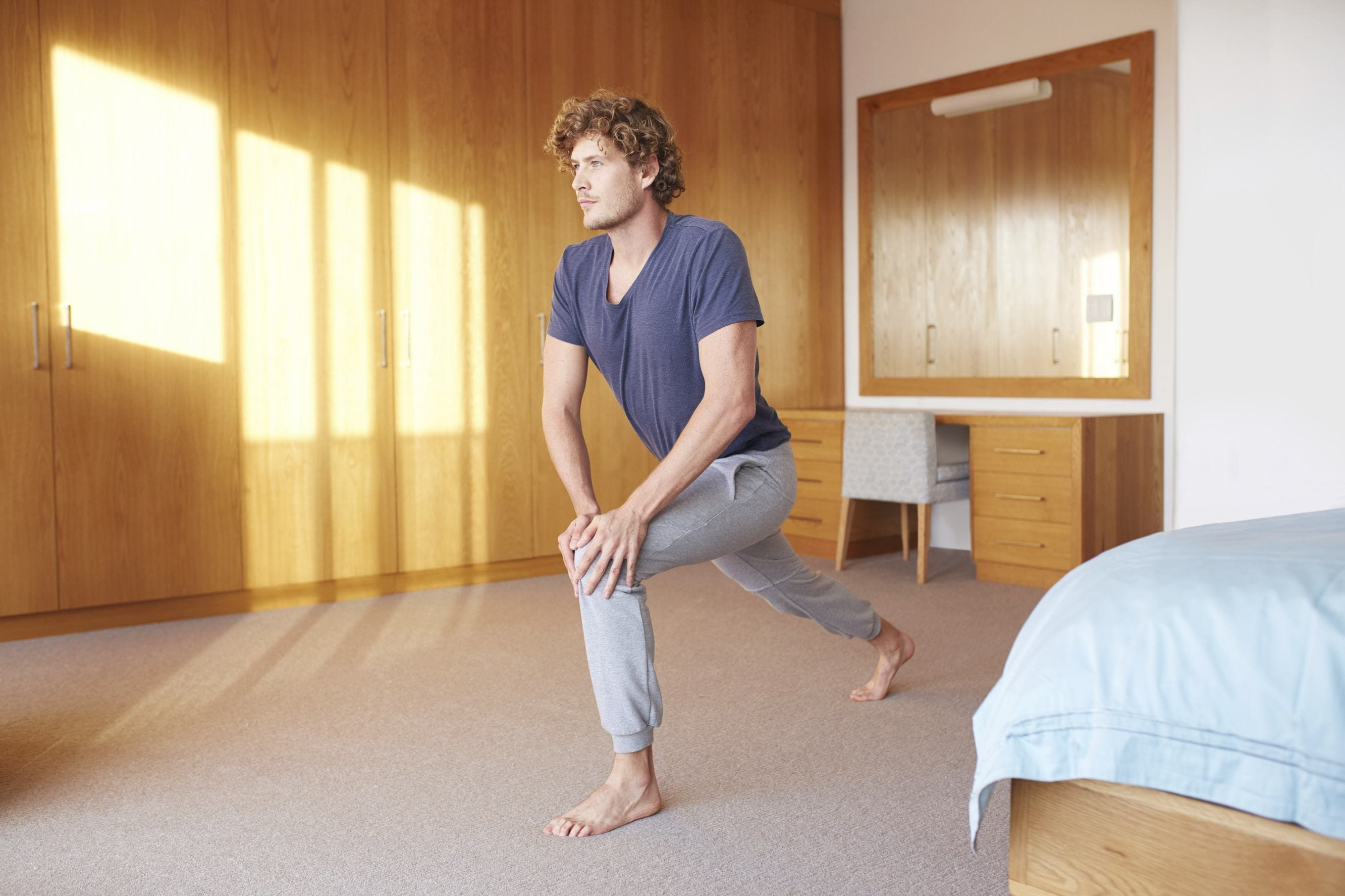 gym hairstyles for men yoga