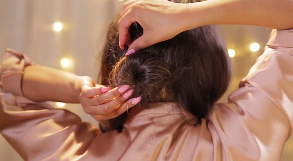 chignon updos for long hair create bun
