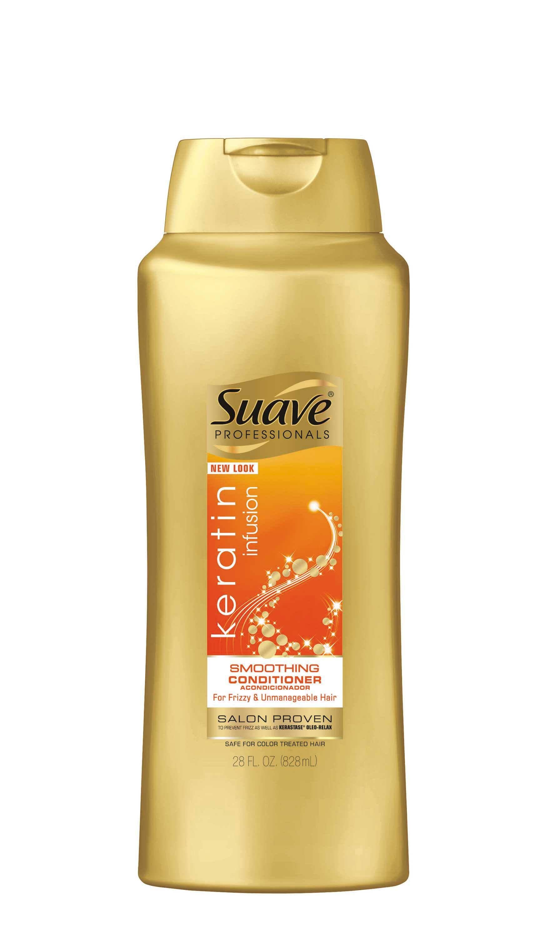 SUAVE PROFESSIONALS KERATIN INFUSION SMOOTHING CONDITIONER