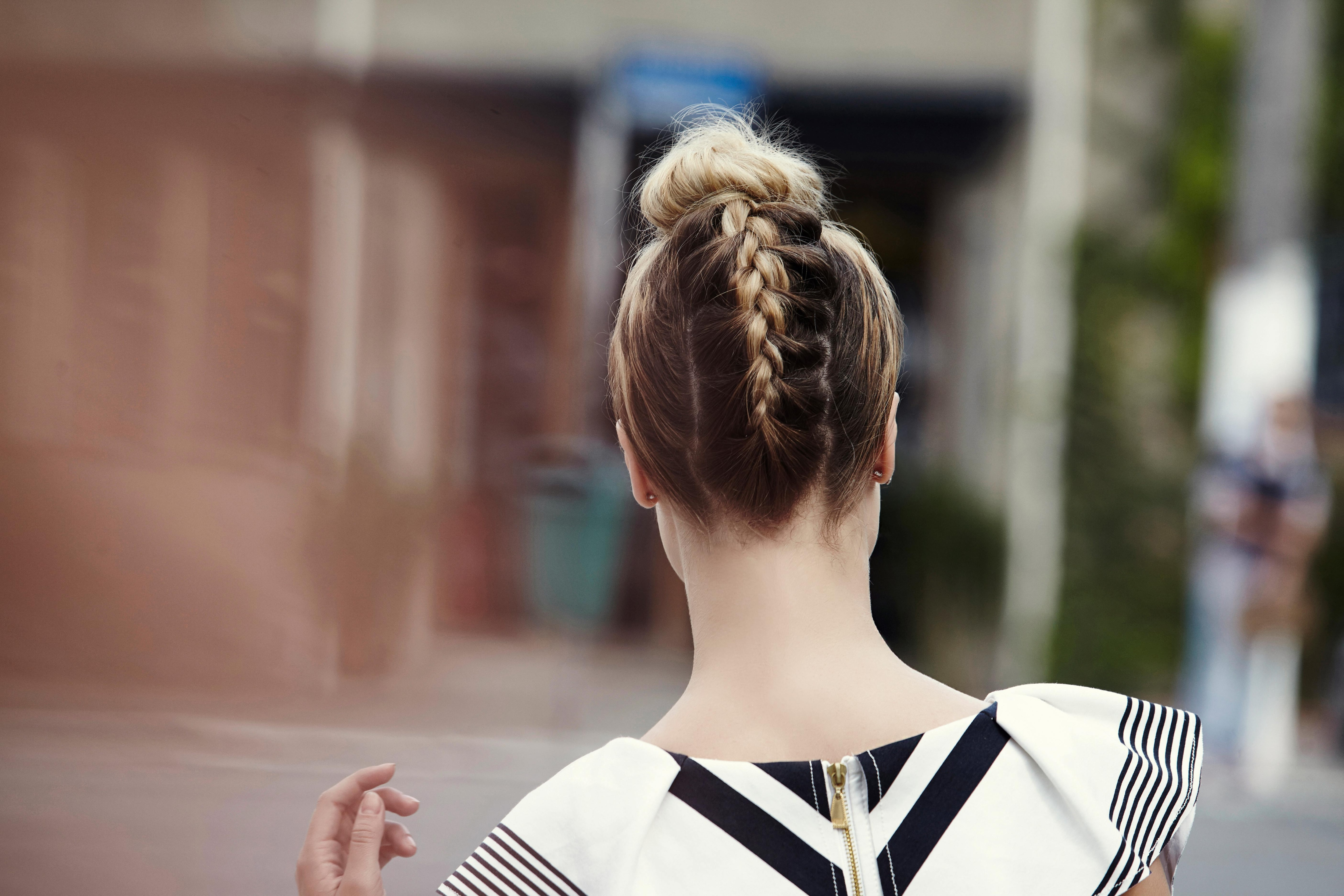 Braided Top Knot Two Must Try Styles You Will Love