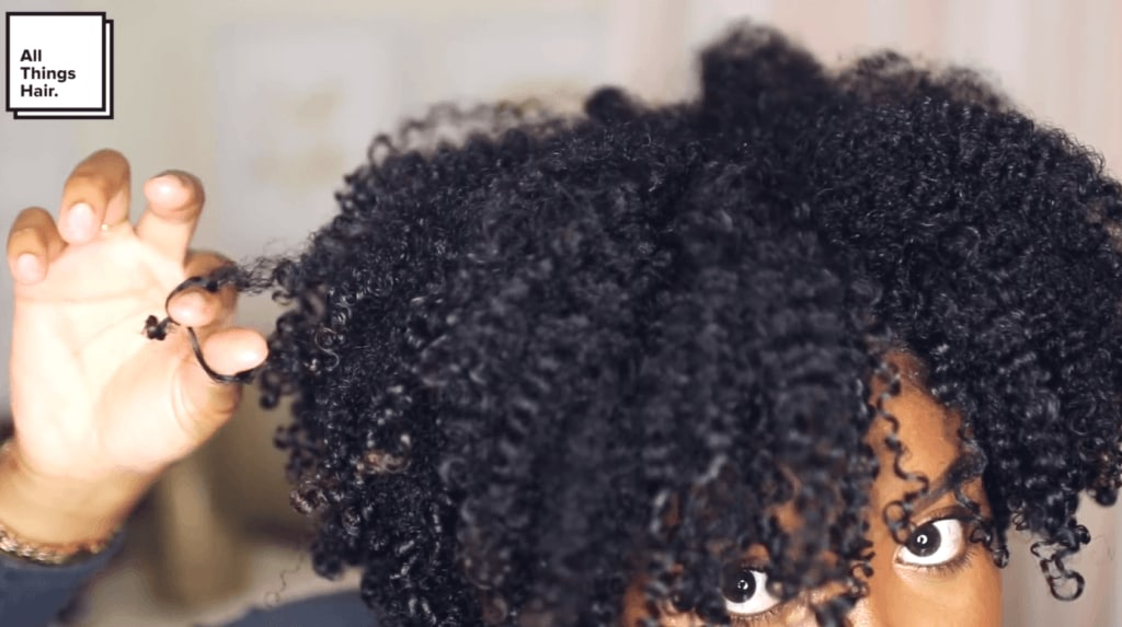 natural curly hairstyles separate curls