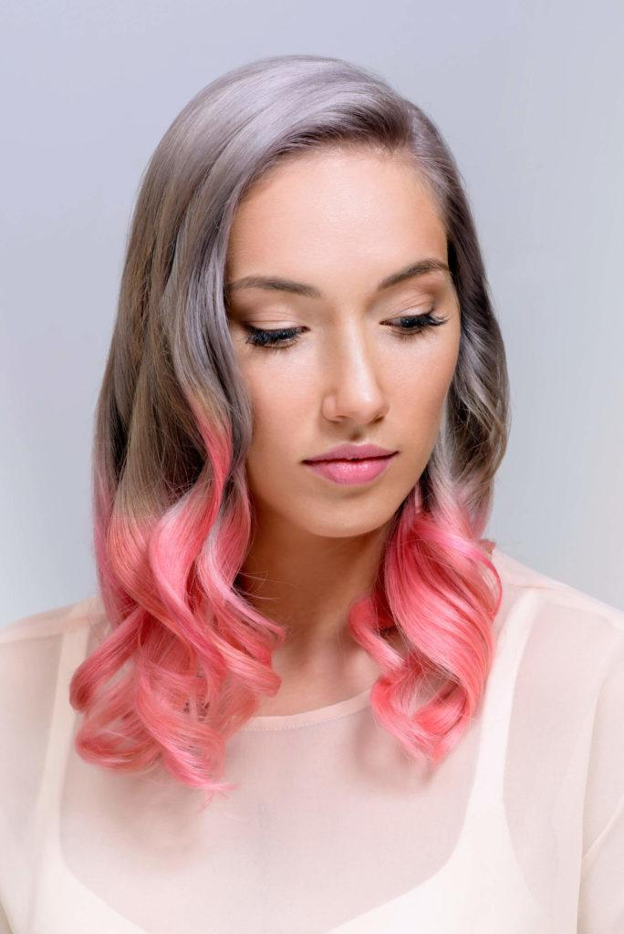 8 Pink Hairstyles for Breast Cancer Awareness Month