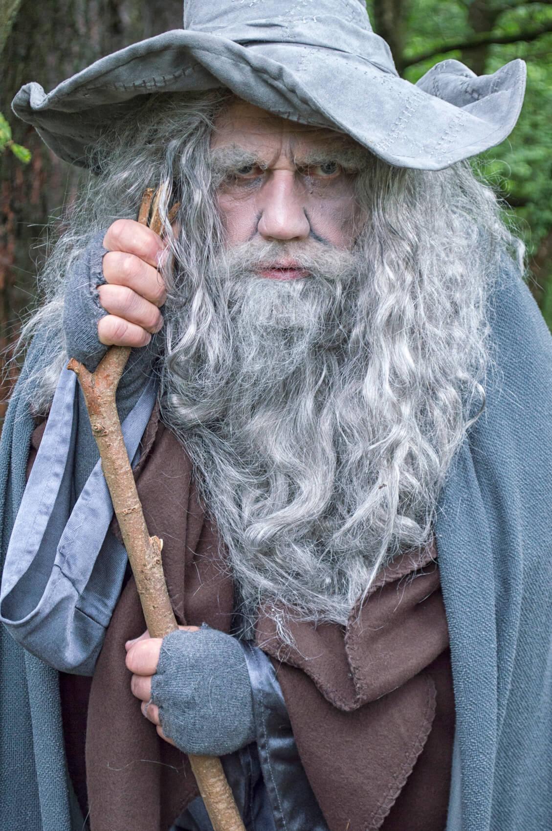 full beard white wizard
