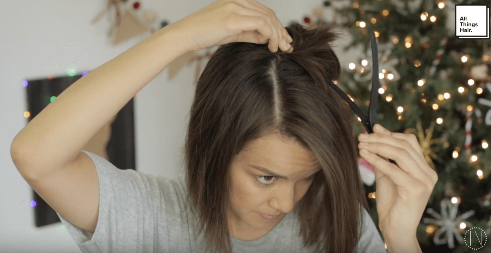 holiday halo braids part and section