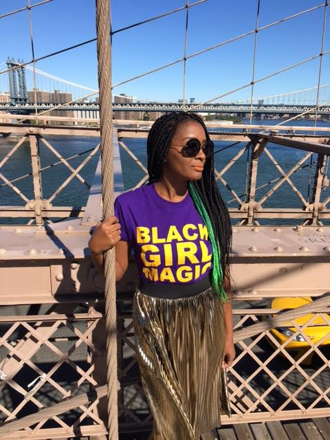 box braids with color: interview with Hope Morgan