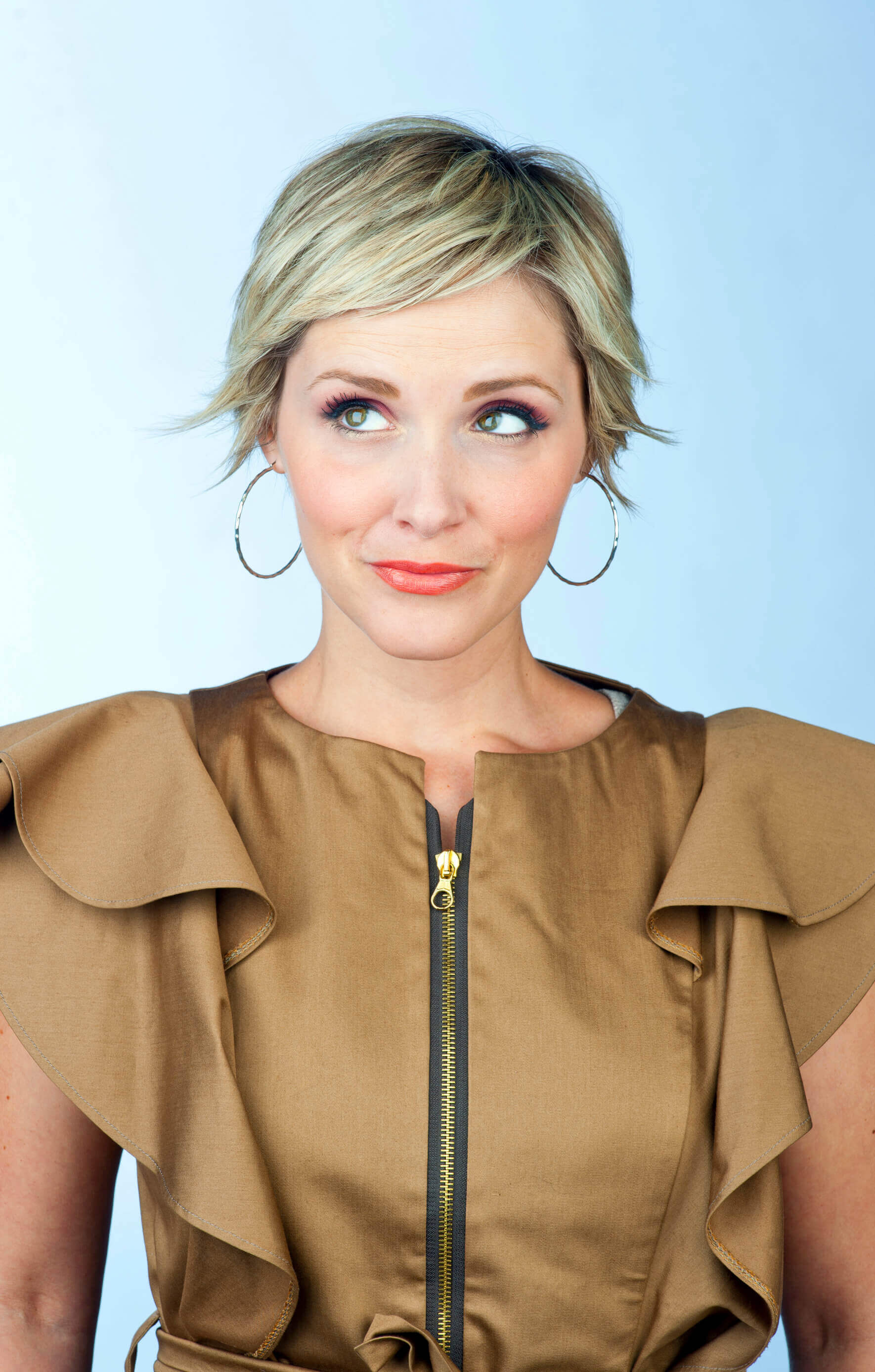 Short Formal Hairstyles curled up hair