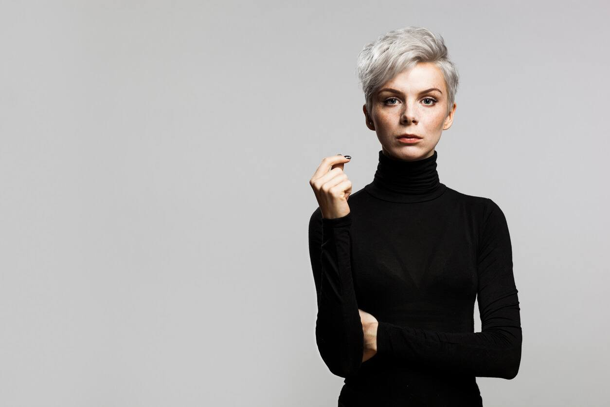 ways to style pixie cuts for volume