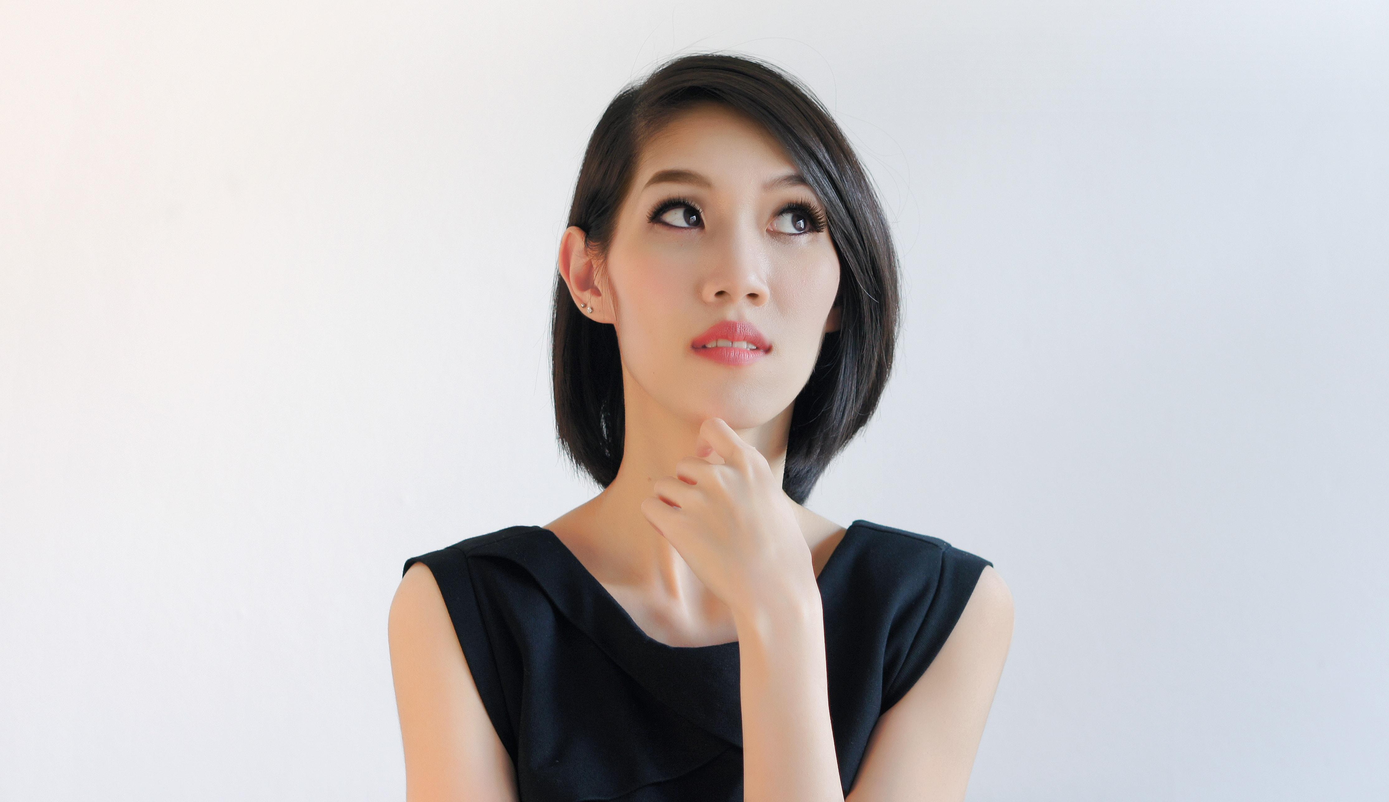 how to create cute asian bob hairstyles deep part