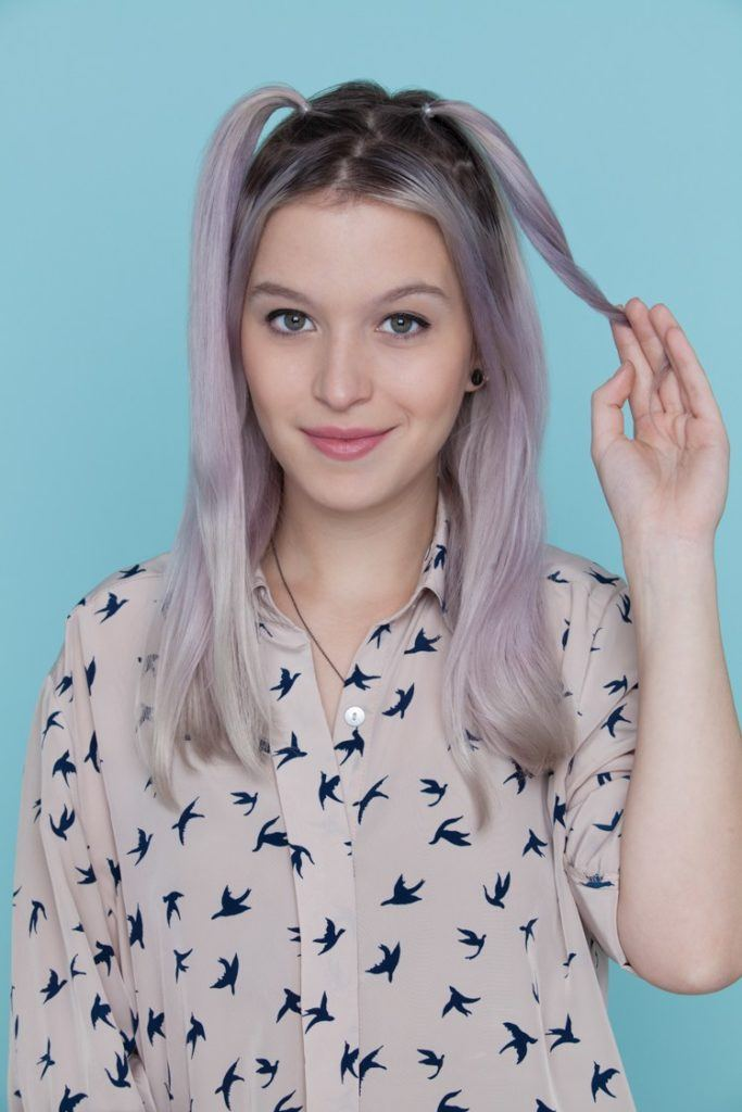 cute halloween hairstyles cat ears pigtails