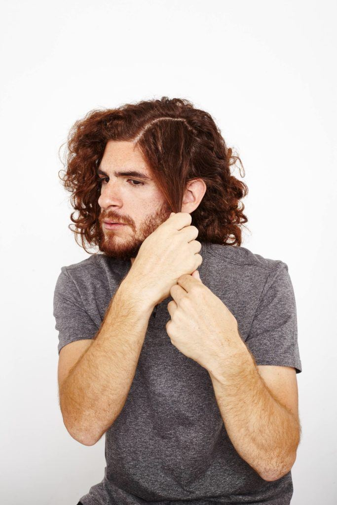 creating defined curls for men add product