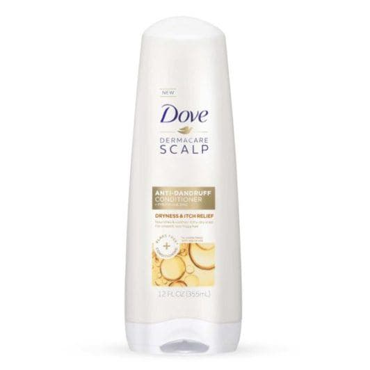 DOVE DERMACARE SCALP DRYNESS & ITCH RELIEF ANTI-DANDRUFF SHAMPOO