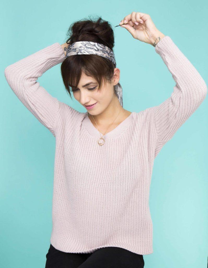 how to create fake bangs updo hair