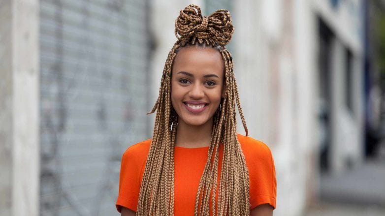 10 Super,Cute Styles with Box Braids to Wear Now