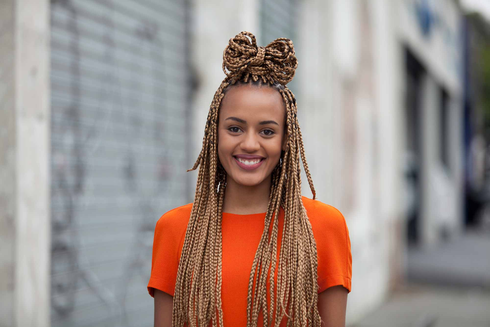 10 Super Cute Styles With Box Braids To