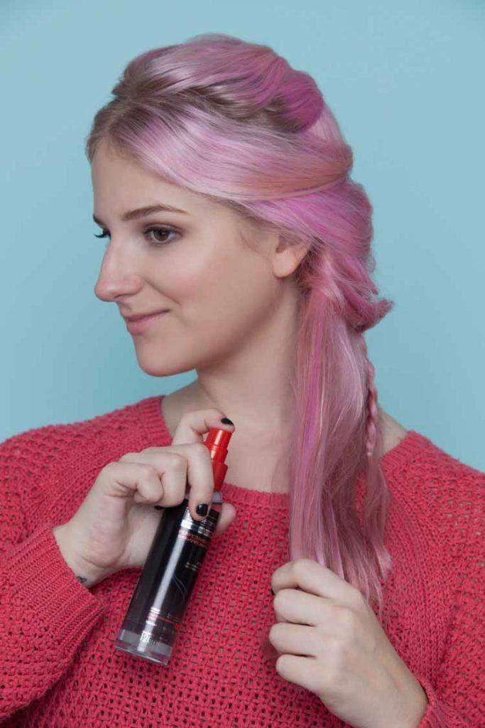 mermaid hair shine serum
