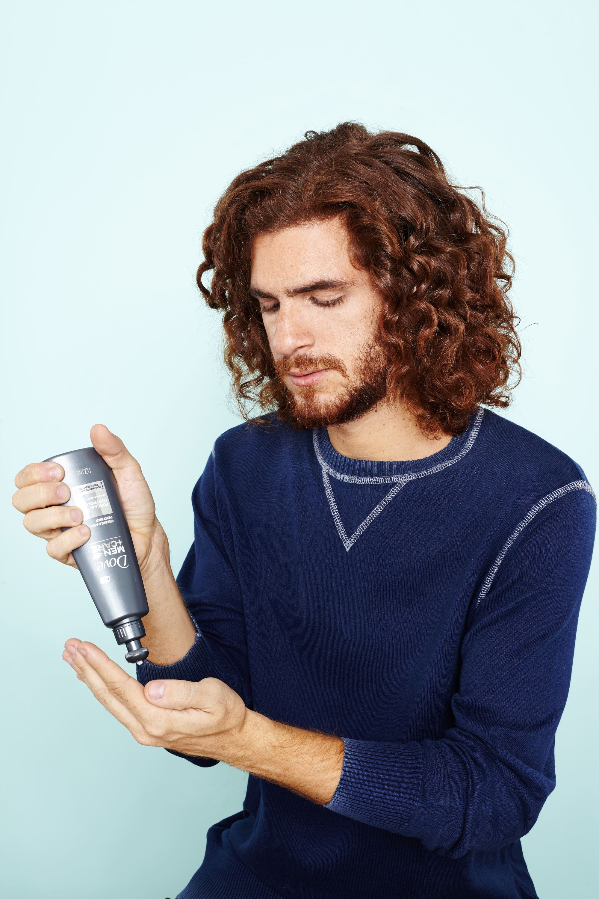 hair products for men's thick hair leave in conditioner