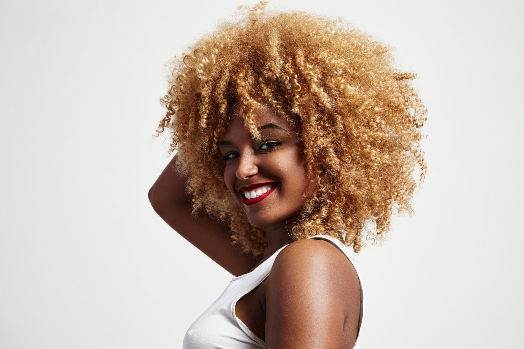 7 Blonde Afro Ideas For The Bleach Happy Curlfriend