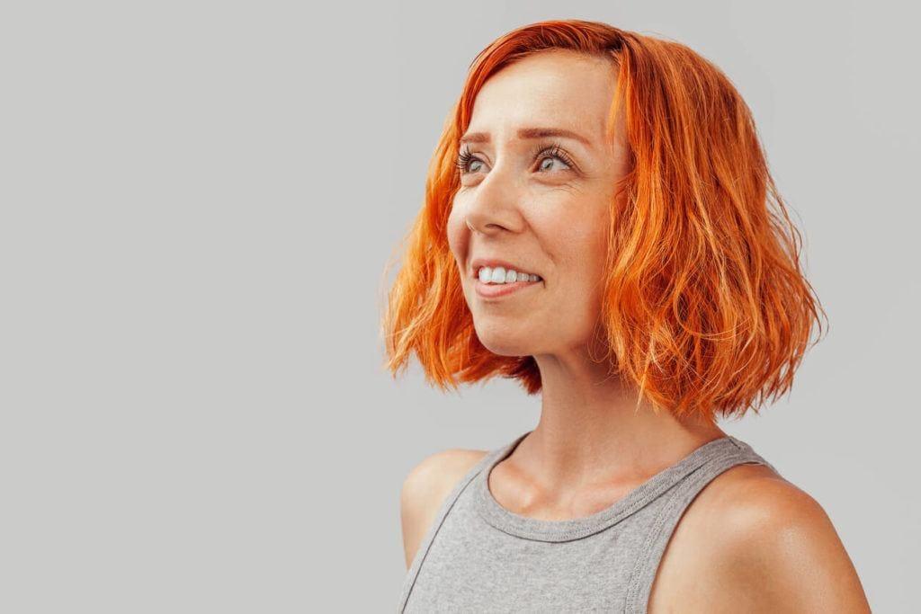 blood orange hair trends