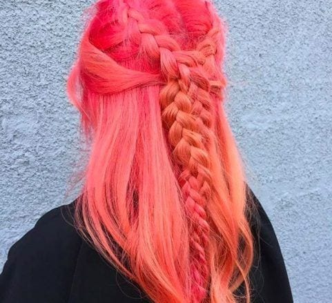 bright hair colors from Instagram