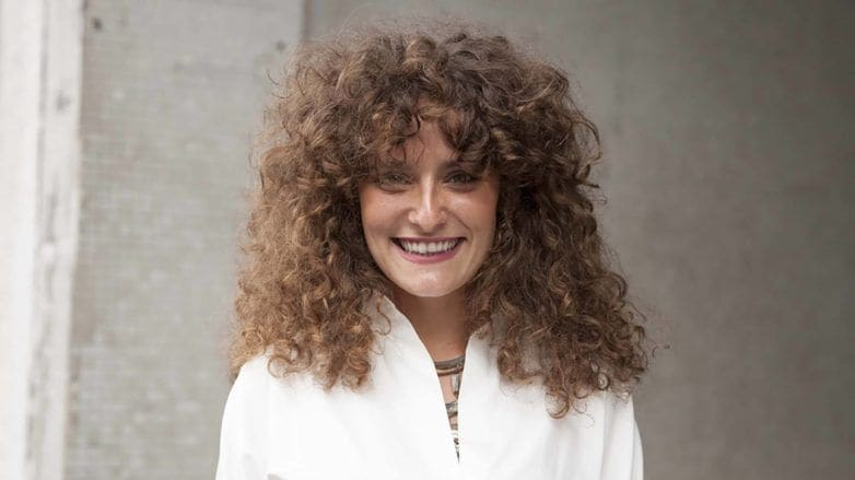 how to rock tight ringlets in your hair