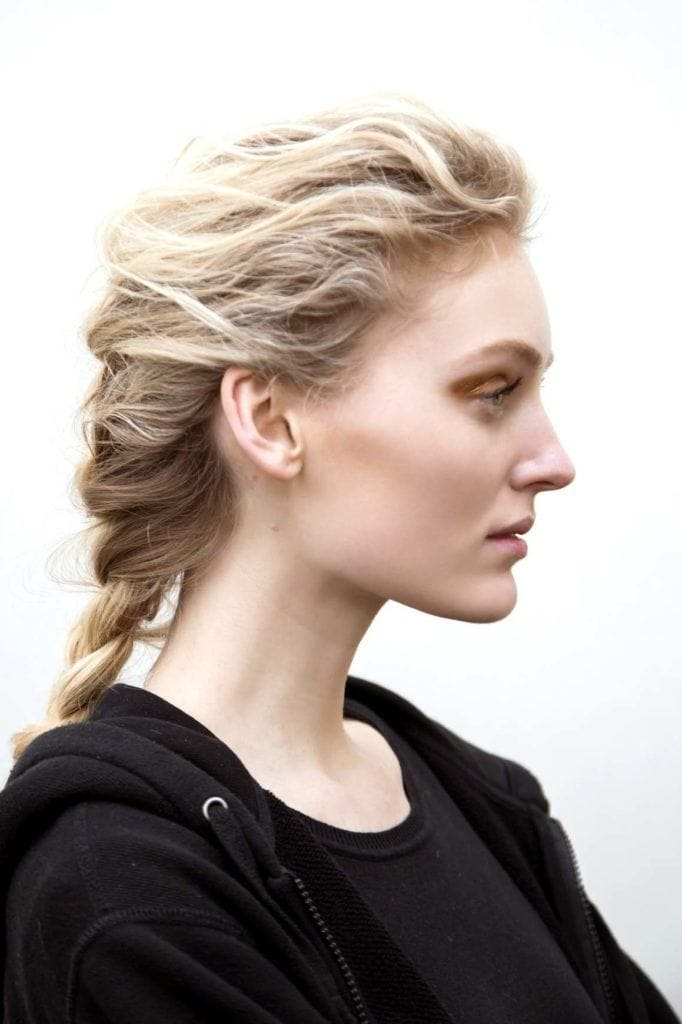 french braid hairstyles to wear over the weekend messy braid